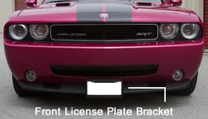 2016 Dodge Trucks >> Front License Plate Bracket
